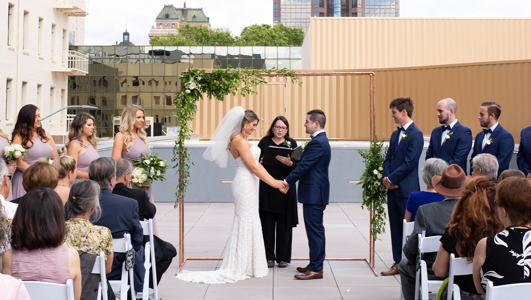 Vows on the Roof