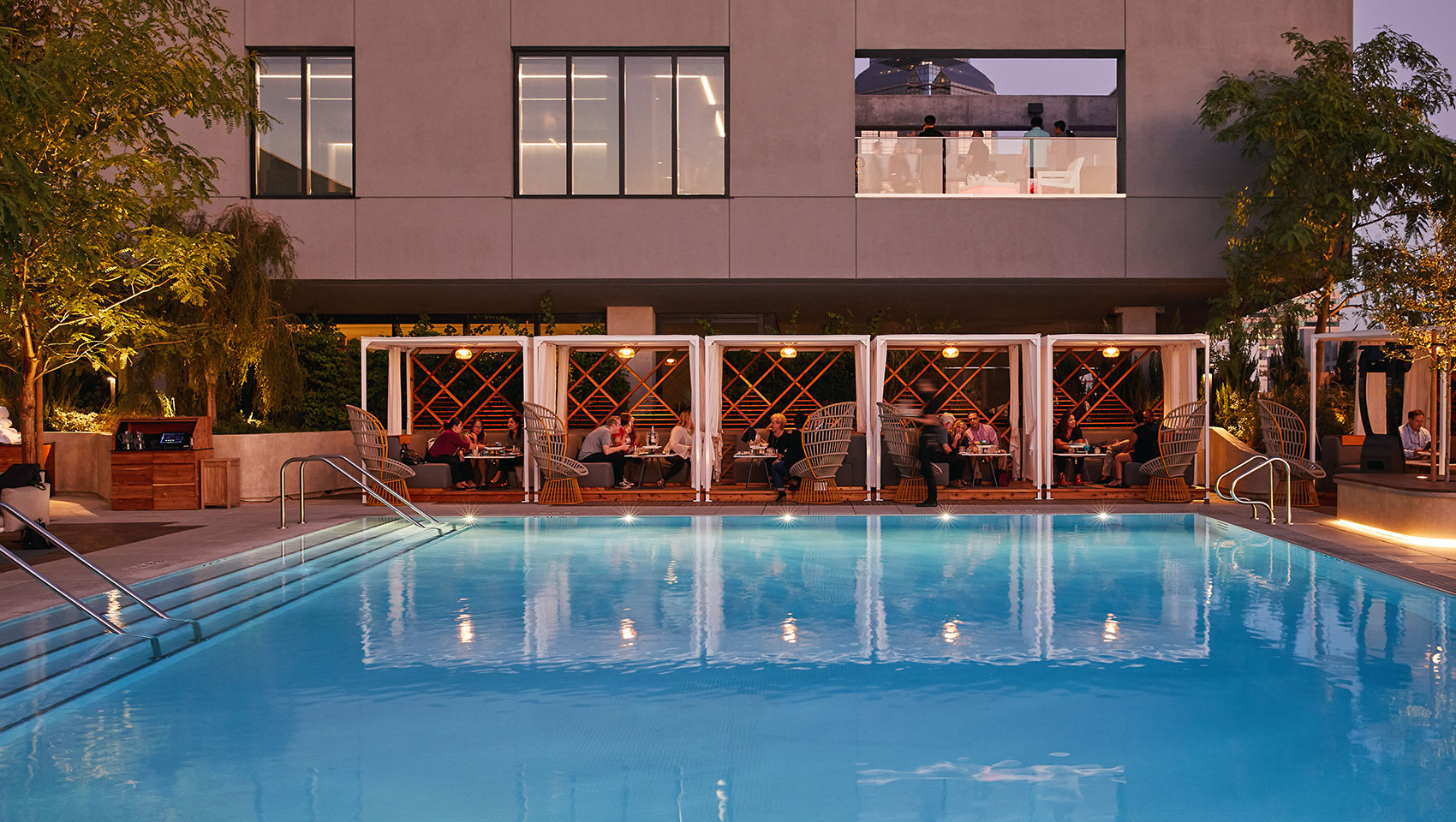 Kimpton Sawwyer Hotel pool