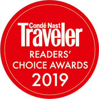Conde Naste Travelers Readers' Choice Award 2019