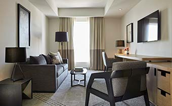 Luxury Hotel Suites in Sacramento